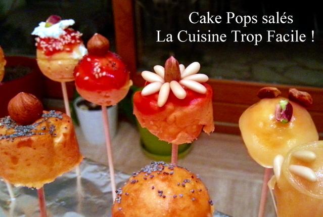 Cake Pops Salés