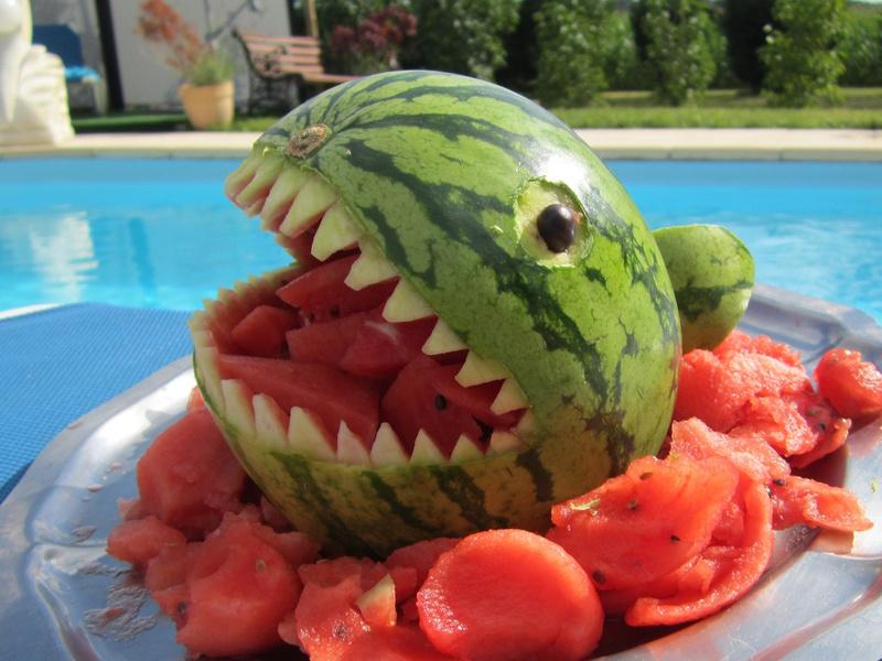 Requin en past que sculpt e - Comment couper la ciboulette pour qu elle repousse ...